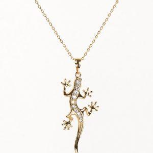 Lizard Pendant Necklace