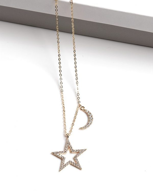 Callel Moon and Star Necklace