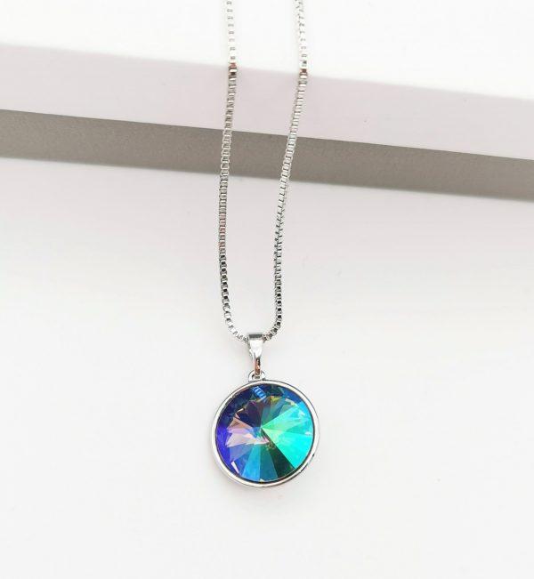 Callel Crystal Necklace Embellished with Crystal from Swarovski