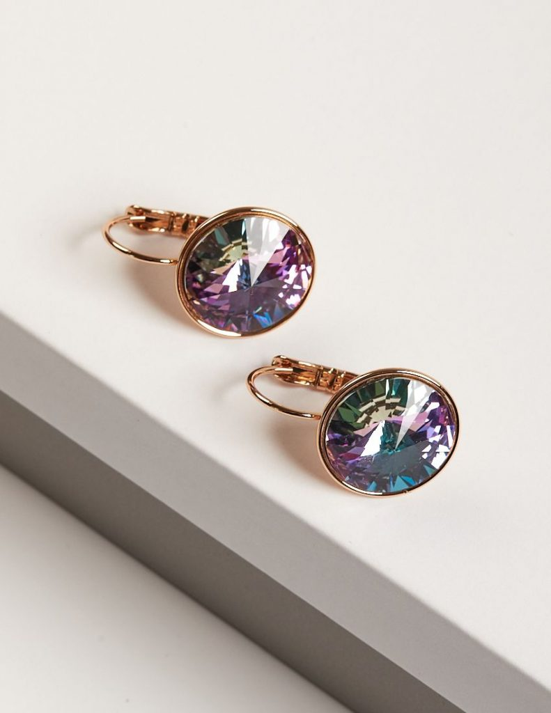 callel Swarovski crystal earrings