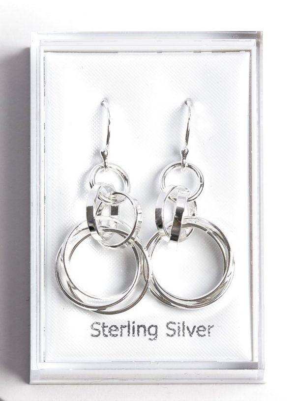 Callel 925 Sterling Silver Baby Foot Stud Earrings