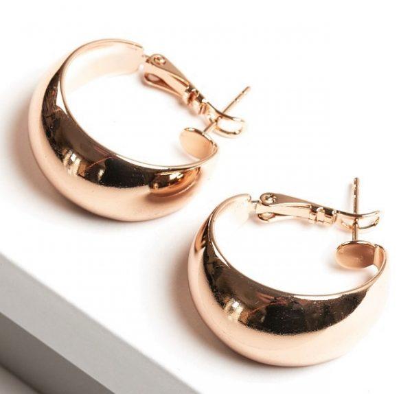 Callel 18K Gold Color Hoop Earrings