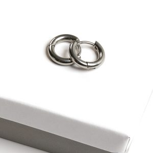 Callel Silver Huggie Hoop Earrings