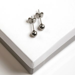 Callel Stainless Steel Ball Stud Earrings