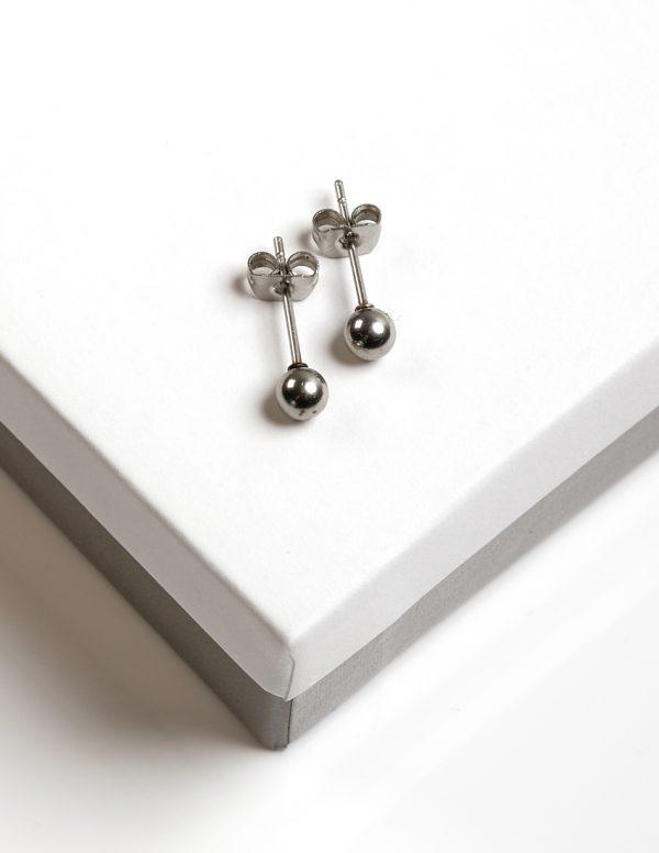 Callel Stainless Steel Ball Stud Earrings
