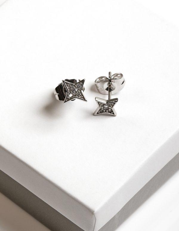 Callel star stud earrings