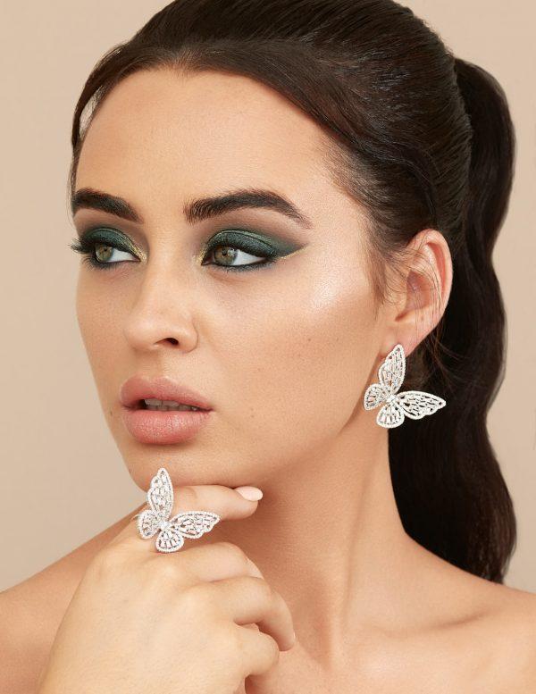 Callel Butterfly Jewellery Set
