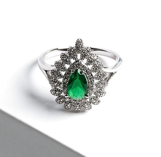 Callel Emerald Green Ring