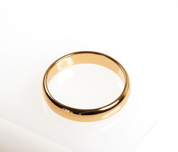 Callel Yellow Gold Band Ring