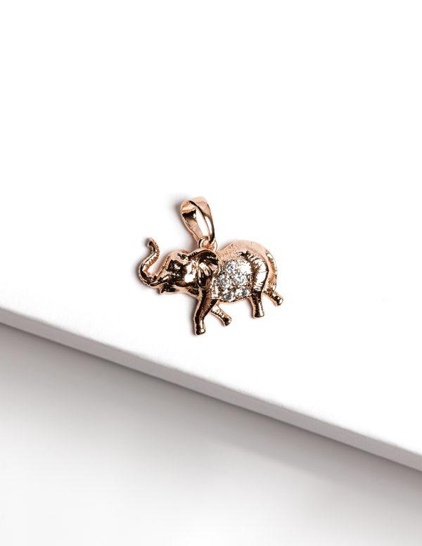 Callel 18k Elephant Pendant