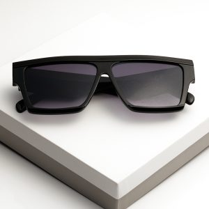 Flat Top Square Frame Sunglasses