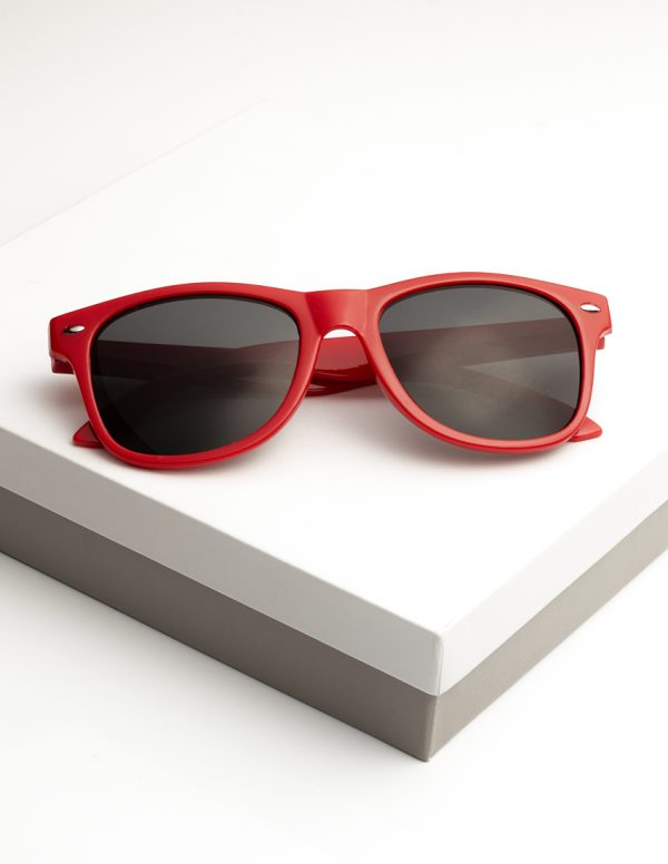 Callel Kids Red Frame Sunglasses