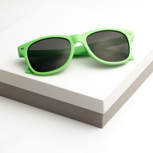 Callel Kids Green Frame Sunglasses