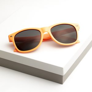 Callel Kids Orange Frame Sunglasses