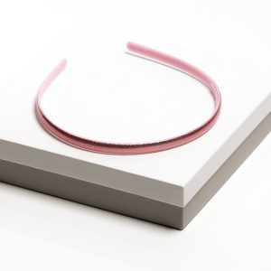 Girls Baby Pink Gloss Plastic Headband