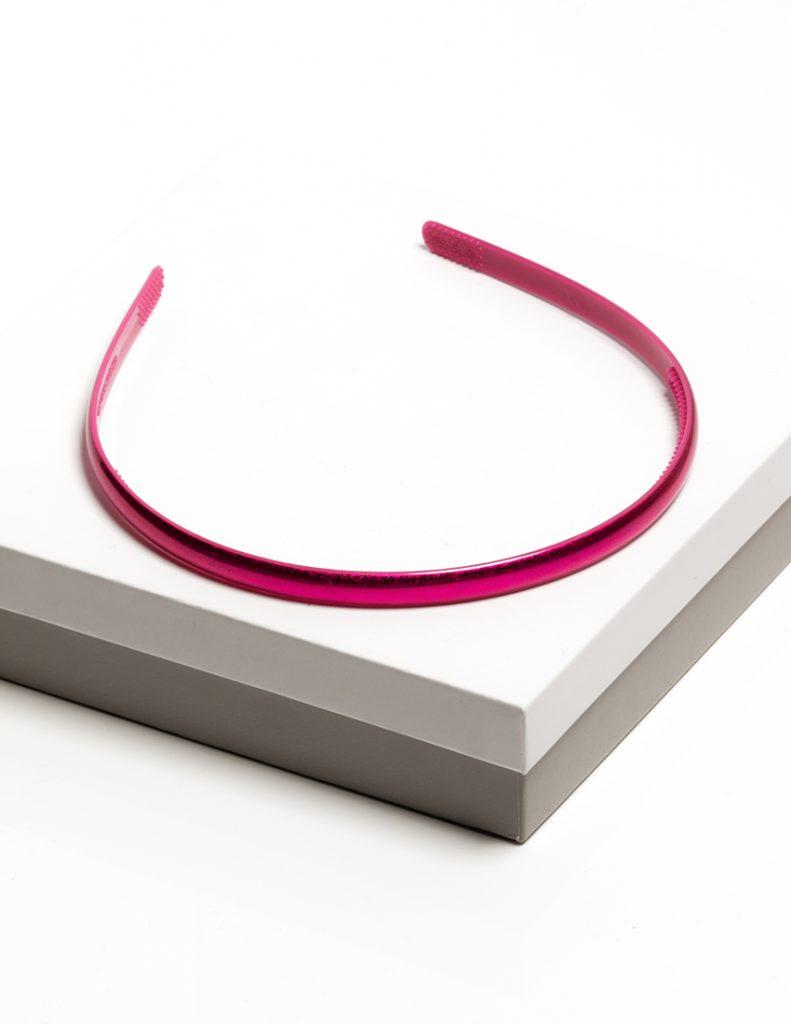 Callel Girls Pink Gloss Plastic Headband