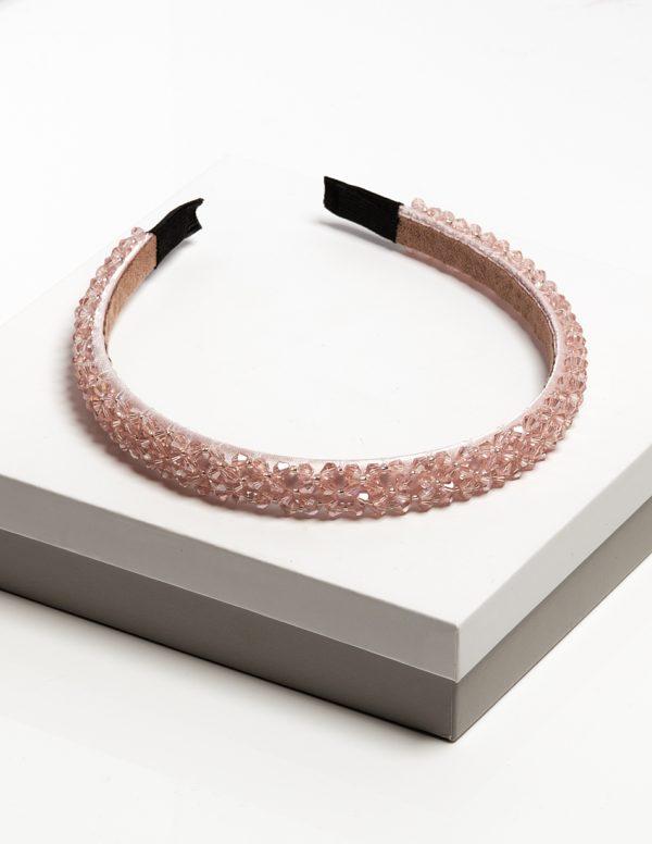 Callel Pink Diamante Embellished Headband