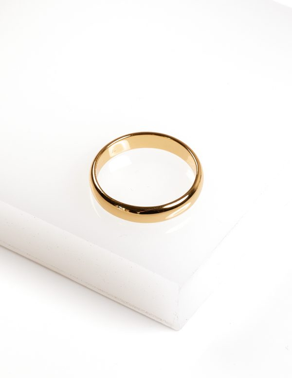 Callel 24k Yellow Gold Ring