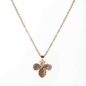 Callel Honey Bee Pendant Necklace