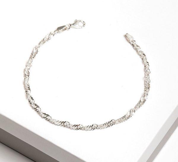 Callel Sterling Silver Chain Bracelet