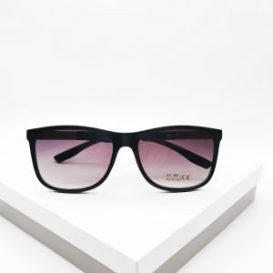 Black Angled Sunglasses