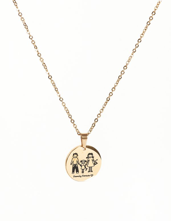 Callel Family Forever Pendant Necklace