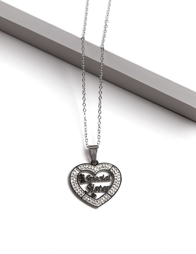 Callel Special Sister Pendant Necklace
