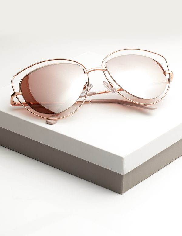 Callel Rose Gold Sunglasses