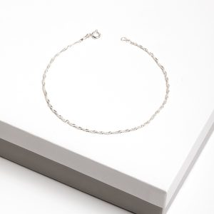 Callel 925 Sterling Silver Twisted Chain Bracelet