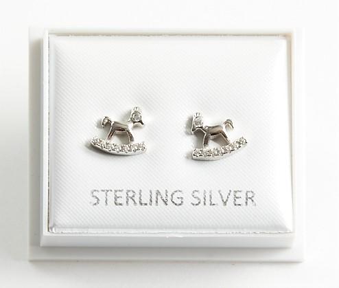 Callel Rocking Horse Stud Earrings