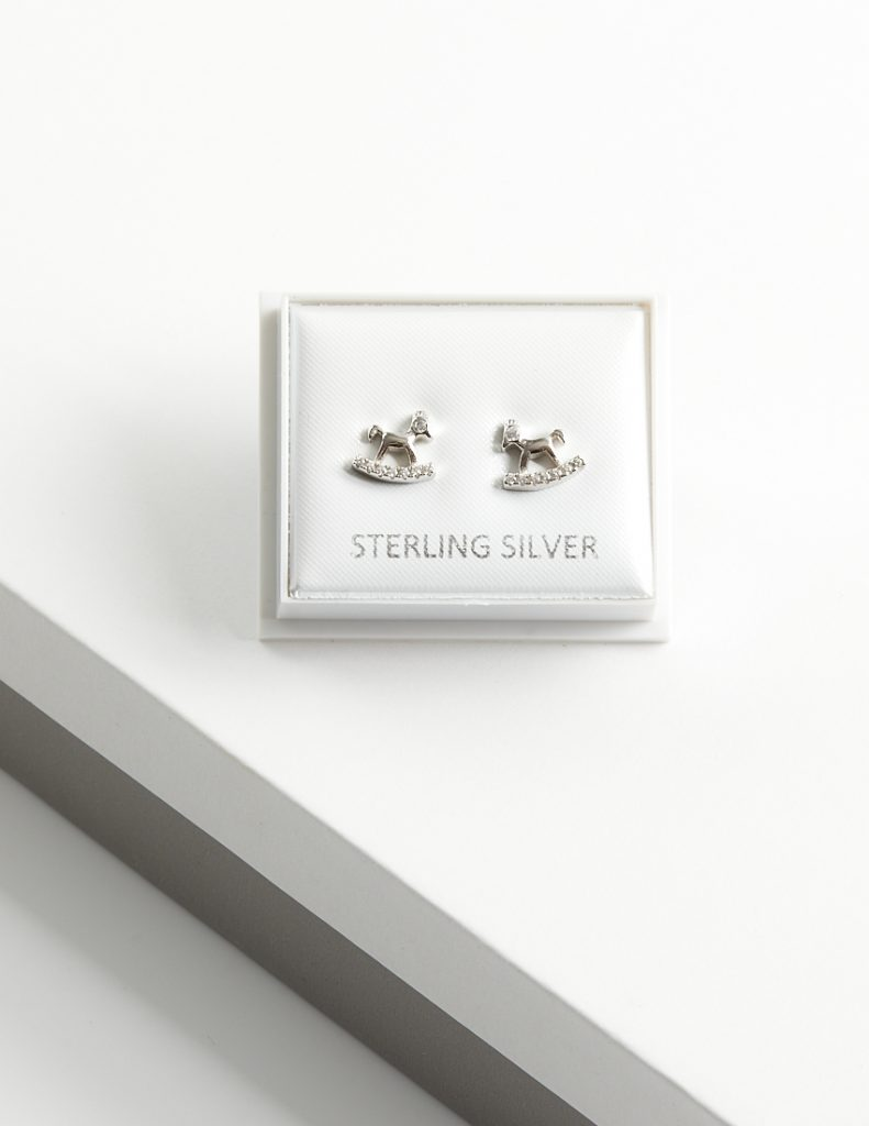Callel Rocking Horse Stud Earrings