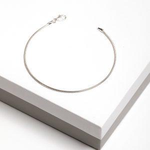 925 Sterling Silver Snake Chain Bracelet