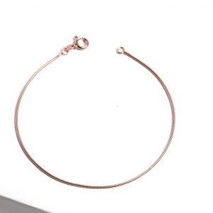 Rose Gold Snake Chain Bracelet
