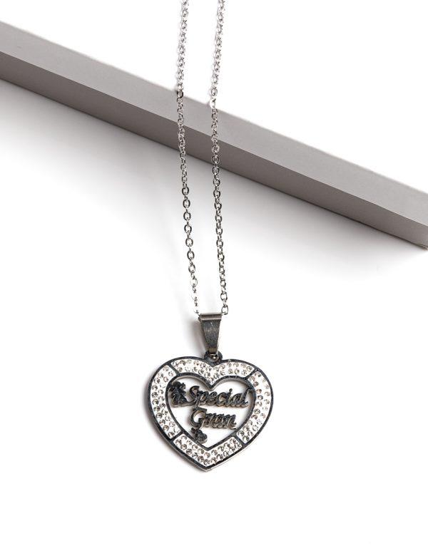 Callel Silver Special Grandma Pendant Necklace
