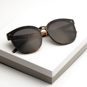 Black Tortiose Print Sunglasses