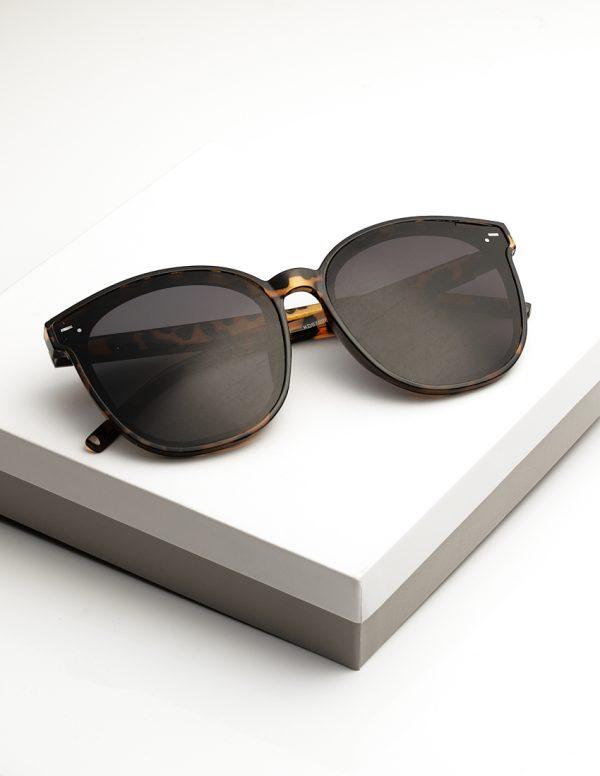 Callel Black Tortiose Print Sunglasses