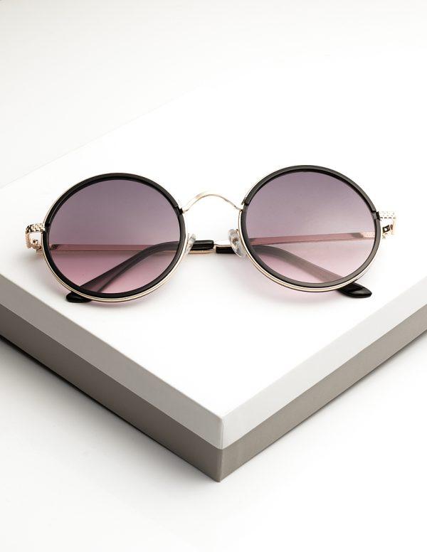 Callel Round Metal Sunglasses