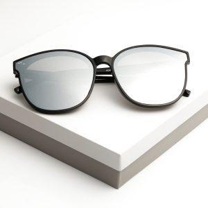 Mirrored Glam Shape Sunglasses