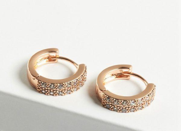 Callel Cubic Zirconia Hoop Earrings