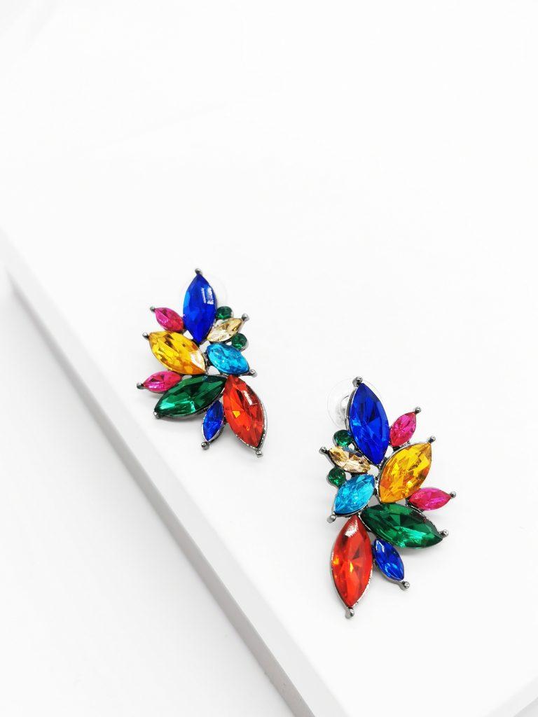 Callel Multicoloured Stud Earrings