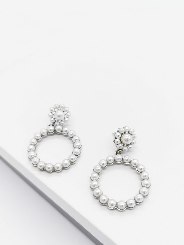 Callel Pearl Drop Earrings