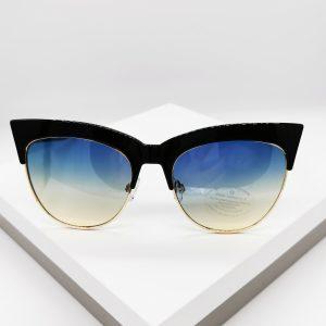 Colour Lens Tinted Trim Sunglasses