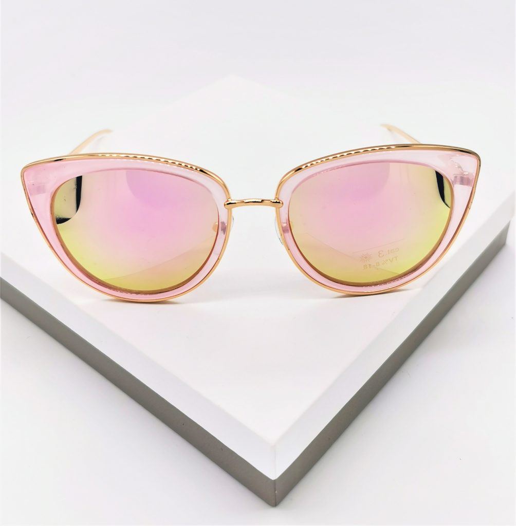 Callel Pink Cat Eye Sunglasses