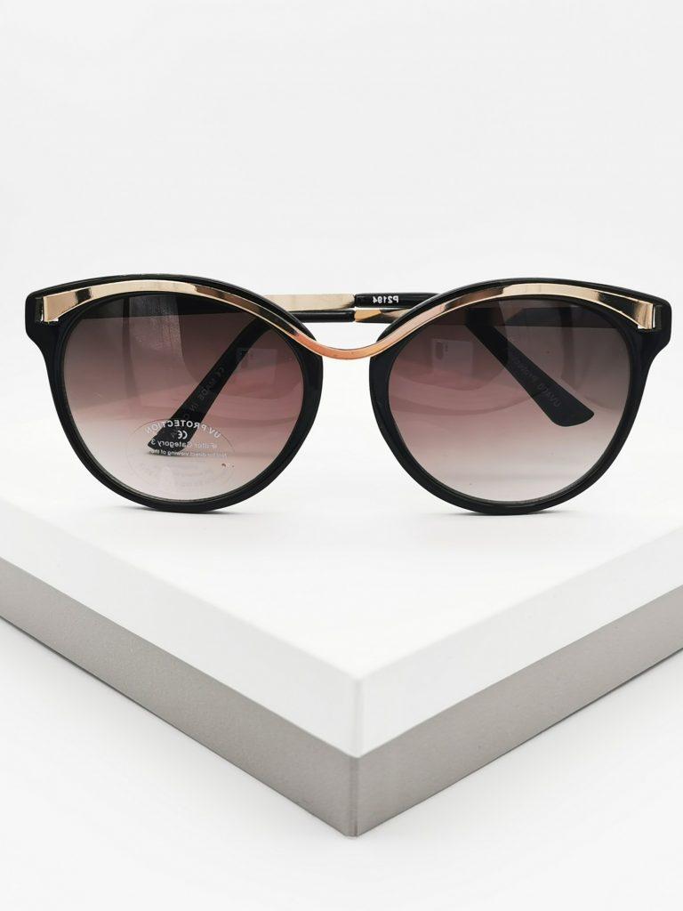Callel Femonino Gold Detail Sunglasses