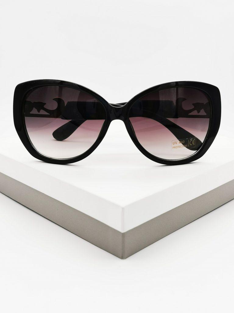 Callel Black Vintage Sunglasses