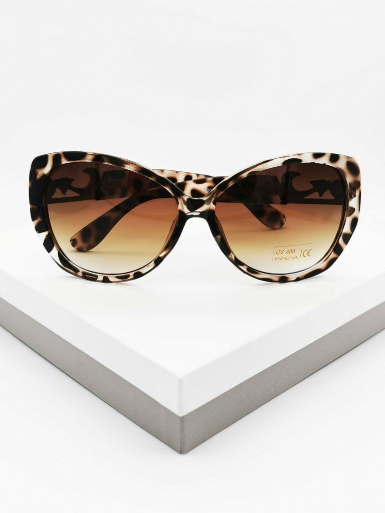 Callel Animal Print Vintage Sunglasses