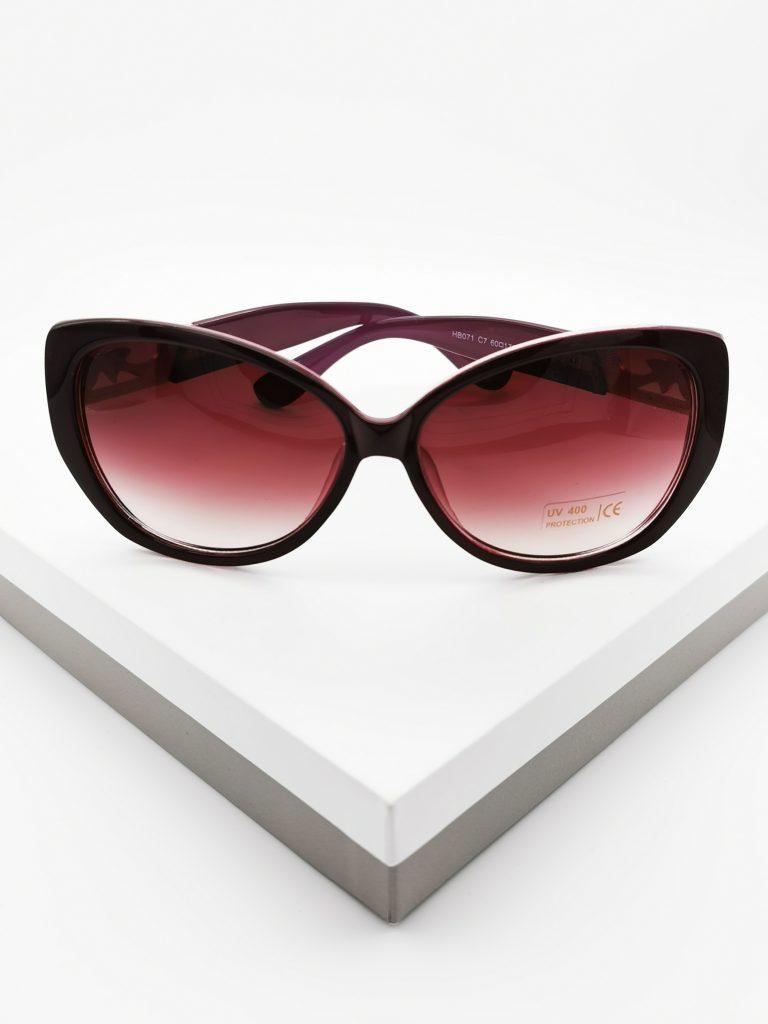 Callel Purple Vintage Sunglasses
