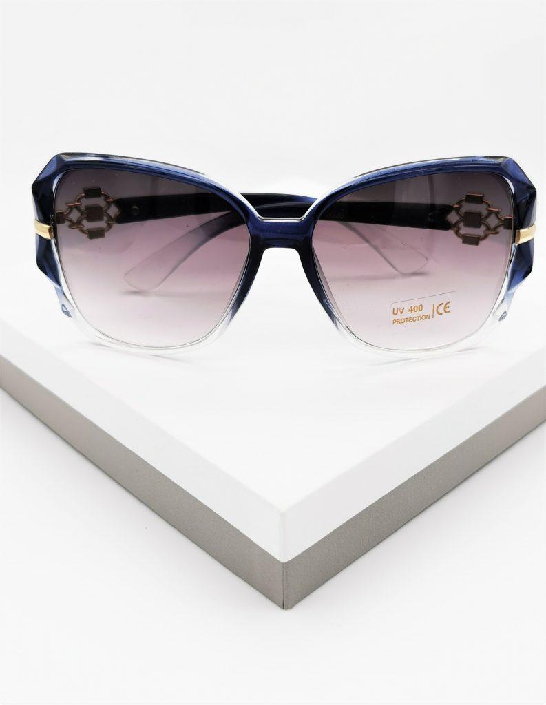 Callel Clear Blue Designer Sunglasses