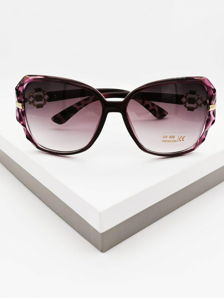 Callel Purple Designer Sunglasses