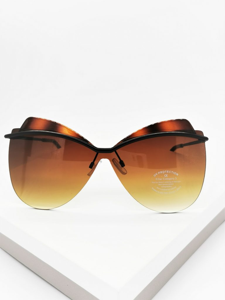 Callel Oversize Celebrity Sunglasses